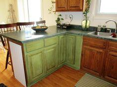 Kitchen Chalk Paint Kitchen Cabinets Denganbunga And Place The Fruit Also Three Seats Chalk Paint Kitchen Cabinets for Beautiful Kitchen