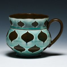 Hmmmm...wouldn't pay $60.00 for this mug, but I am thinkin' Petroglyph! :)