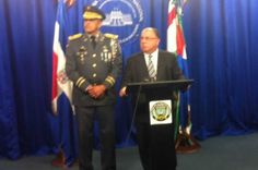 El ministro de Interior y Policía responsabilizó la mañana de este miércoles al candidato presidencial del PRM, Luis Abinader, de cualquier disturbio que se produzca en la Universidad