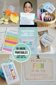 Over 100 #printables in one spot! Gifts, holidays, personal and more.