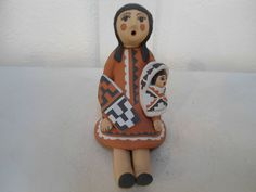 Jemez Pottery Native American Indian Pueblo Storyteller by Caroline F.Gachupin