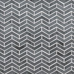 ANN SACKS Chrysalis chevron herringbone glass mosaic in transparent smoke