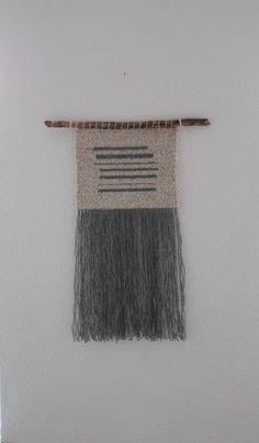 Handgewebter Wandteppich  - ein Designerstück von mapeela bei DaWanda