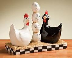The rooster may rule the roost but the hen rules the rooster
