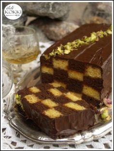 ildi KOKKI : Sakk szelet Hungarian Cuisine, Sweet Cookies, Tiramisu, Cake Recipes, Christmas Crafts, Cooking, Ethnic Recipes, Desserts, Food