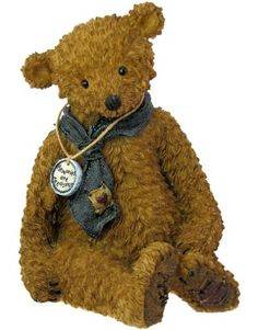 """Boyds Bears Tattered Treasures Resin Teddy Bear Figurine Memories by Tattered Treasures. $14.95. About 4-1/4"""" tall. Limited Edition numbered on base. Handcast Bearstone Resin Figurine made from an original sculpture. Boyds Tattered Treasures Line Memories Bear. Handpainted. Boyds Tattered Treasures Line Memories Bear.  """"We do not remember days, we remember moments."""""""