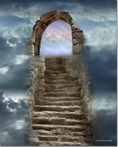 """R. Bartow - Treasures of the Deep  """"Narrow is the gate and difficult the way which leads to life."""". —Matt 7:14"""