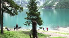 Oeschinensee in Kandersteg, Switzerland. What a breathtaking place.Hope I get to go back someday. Wonderful Places, Hungary, Wilderness, Austria, Switzerland, Places Ive Been, Greece, Spain, To Go
