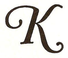 monogram letter k - Bing Images Letter K Font, Letter G Tattoo, Letter K Design, Alphabet Letters, Hand Lettering Fonts, Monogram Fonts, Monogram Letters, Monogram Initials, Monograms