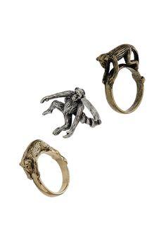 Monkey Ring Set