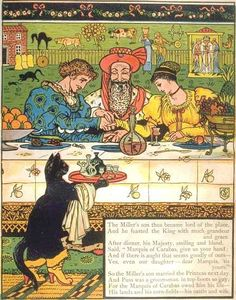 Puss n Boots illustrated by Walter Crane