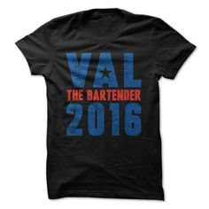 Val for President 2016 - Vote for Hillary Clinton's best friend, Val the Bartender!