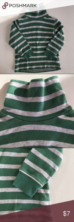 Carter's long sleeves turtle neck stripe tshirt The perfect long sleeves tshirt to keep your little boy warm yet looking cool this winter. Carter's Shirts & Tops Tees - Long Sleeve