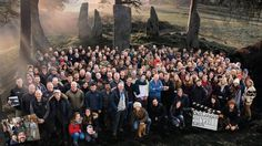 Outlander Cast & Crew last day of filming Season 2