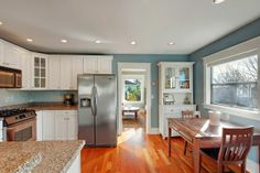 Kitchen of 3016 W. Smith St. The 2,235-square-foot house, built in 1927, has three bedrooms, two bathrooms, a family room, a front porch, a ...