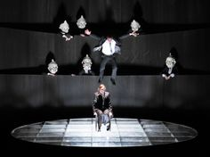 Bühnenbild und Licht: Klaus Grünberg, Der Kaufmann von Venedig (merchant of venice), Shakespeare, Barrie Kosky, Schauspiel Frankfurt, 2012