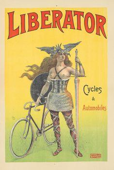 Automobile, Art Nouveau Poster, Vintage Flash, Vintage Cycles, Saint Denis, Bicycle Art, Car Posters, Vintage Travel Posters, Rare Antique