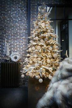 À Noël, le blanc offre un côté réconfortant