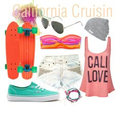 Love this cali style, minus the penny board cuz i almost broke my neck the last time i rode one :D