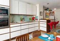 cozinha turquesa e vermelho - Pesquisa Google