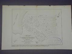 Map of Peralta Heights Oakland map real estate advertisement 1877 Gift of Mr. William G. Boardman H69.38.1504  H69.38.1504   OMCA COLLECTIONS