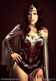Wonder Woman por Eve Beauregard | Nerd Da Hora