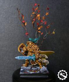 Warhammer Age of Sigmar   Stormcast Eternals / Silver Tower   Knight Questor #warhammer #ageofsigmar #aos #sigmar #wh #whfb #gw #gamesworkshop #wellofeternity #miniatures #wargaming #hobby #fantasy