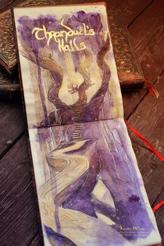 Elvenking's Halls by Kinko-White on deviantART