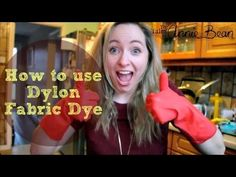 How to use dylon handwash fabric dye (Do It Yourself) Clothes Patterns, Sewing Clothes, Old Video, Old Jeans, How To Dye Fabric, Being Used, Annie, January