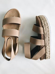 We love these platform espadrille sandals by Elegant Footwear! You can dress the… - Schuhe Women's Shoes, Hot Shoes, Me Too Shoes, Shoe Boots, Dance Shoes, Platform Espadrille Sandals, Platform Shoes, Heeled Sandals, Wedge Sandals
