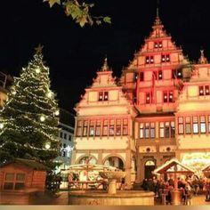 Paderborner Rathaus zu Weihnachten Paderborn Germany, Notre Dame, Tower, Memories, City, Places, Germany, Weihnachten, Memoirs