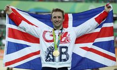 Jason Kenny beats Callum Skinner to Olympic gold in the men's sprint