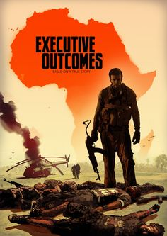 """Executive Outcomes Graphic Novel by Nick Bicanic, This cover strongly echoes the military part of Jacob's saga. This book's protagonist, the standing figure, is even an Afrikaner like Jacob. """"War doesn't decide who's right, but who's left. Sierra Leone Civil War, Special Forces Gear, West African Countries, Sr1, Military Pictures, Army Love, Military History, Military Life, Africa"""