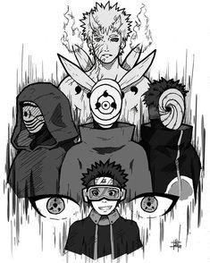 obito growing and slowly becoming more and more fucked up Anime Naruto, Naruto Fan Art, Manga Anime, Otaku Anime, Kakashi And Obito, Naruto Shippuden Sasuke, Madara Uchiha, Naruto Shippuden Online, Naruto Sketch