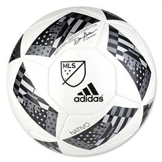 Crafted to improve the consistency of every touch and pass, the adidas 2016 MLS Competition NFHS Soccer Ball commands excellence on match day. The surface on the ball is thermally bonded, creating a s