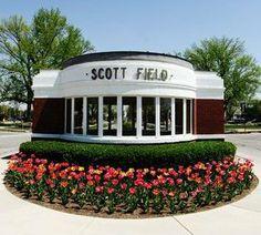Scott Air Force Base, Illinois