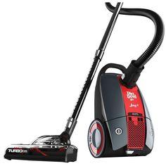 Dirt Devil Jag 3 Multi-Purpose Bagged Canister Vacuum Cleaner, Blacks