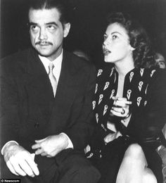 Howard Hughes punched Ava Gardner in the face so she ...