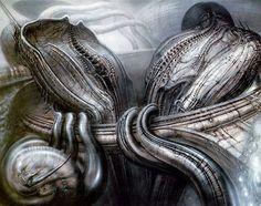 Metempsychose Biomecanique by H.R. Giger (Hans Rüdi Giger) #hrgiger #scifi #sciencefiction #art #surreal #surrealism