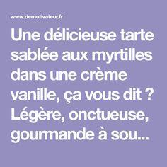 Une délicieuse tarte sablée aux myrtilles dans une crème vanille, ça vous dit? Légère, onctueuse, gourmande à souhait, cette tarte Alsacienne aux myrtilles, typique de la région, va vous r...