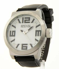 Kenneth Cole Reaction White Dial Men's watch #RK1215 Kenneth Cole. $39.99. Save 47% Off!