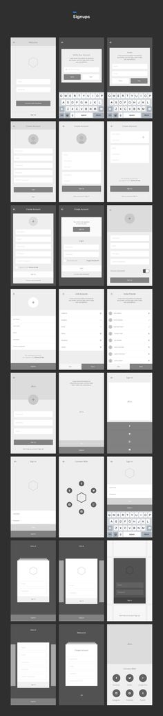 UI 디자인 - 레이아웃 구성 참고