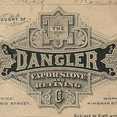 The Dangler captured during an auction. #typehunter #typeresearch #vintagetypography