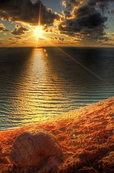 Sand beach sunset HD by atownshorti, via Flickr