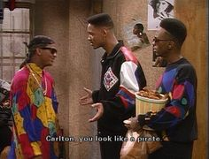 The Fresh Prince of Bel-Air. If I had a dollar for every time I laughed hysterically, I'd be Carlton-rich. Will Smith, Jaden Smith, High School Cliques, 90s Tv Shows, Funny Captions, Funny Memes, Hilarious, Rap, Actor