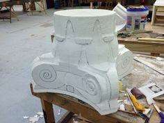 styrofoam sculpture tutorial - Google Search