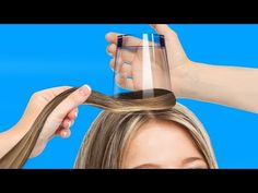Easy Hairstyles For School 5 Minute Crafts For Graduation - 25 cool hairstyles to make under a minute Cool Hairstyles For Girls, Easy Bun Hairstyles, Heatless Hairstyles, Easy Hairstyles For School, Amazing Hairstyles, Perfect Ponytail, Halloween Hair, How To Curl Your Hair, Hair Hacks