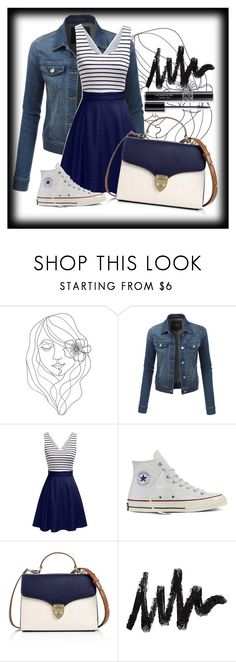"""""""Untitled #6"""" by jordangirl117 ❤ liked on Polyvore featuring PBteen, LE3NO, Converse, Aspinal of London and Christian Dior"""