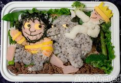 'Where the Wild Things Are' Bento