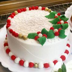 Torta especial de natal #natalpolos  (em Polos Pães e Doces)